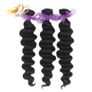 100% Virgin Remy Human Hair Natural Indian Hair Extension pictures & photos