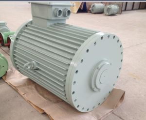 280kw 250rpm Low Speed Horizontal Permanent Magnet Generator pictures & photos