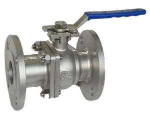 Ball Valve Floating Carbon Steel Wcb with Flange pictures & photos