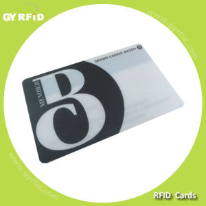 ISO Ntag213 13.56MHz RFID PVC Card for RFID Systems (GYRFID) pictures & photos