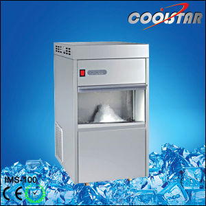 Automatic Stainless Steel Flake Ice Machine with 100kg Ice Capacity pictures & photos