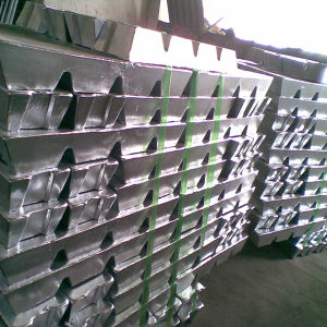 Zinc Ingot 99.995% for Sale pictures & photos