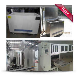 Automatic Vacuum Pump Ultrasonic Cleaner pictures & photos