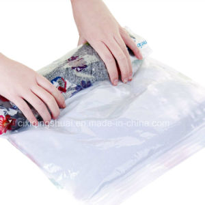 Hand-Rolling Type Vacuum Bag with Household Life pictures & photos