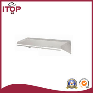 Stainless Steel AISI201 Simple Kitchen Wall Shelf (WS-R08) pictures & photos