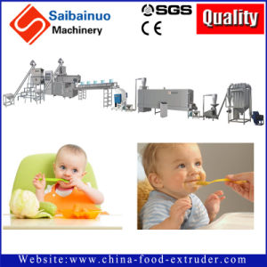 Baby Food Extrusion Extruder Making Machine
