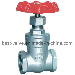 Precision Casting Stainless Steel Threaded Gate Valve