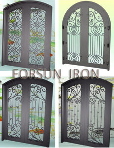 Customized Security Wrought Iron Doors/Gate pictures & photos