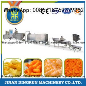 puffy corn snacks food processing machine pictures & photos