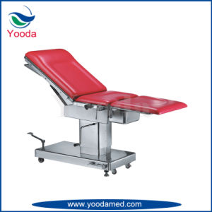 Hydraulic Medical Gynecology Exam and Delivery Table pictures & photos