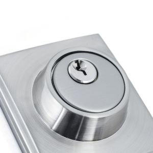 High Security Chrom Handle Set Entrance Door Lock pictures & photos