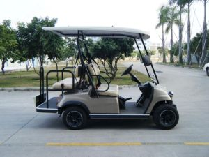 Hot! EEC-Approved 4 Seaters Electric Golf Car pictures & photos