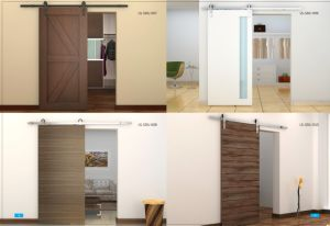 Interior Wooden Sliding Door Hardware pictures & photos