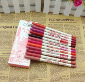 Menow True Lip 12 Color Cosmetics Lipliner Good Quality Matte Makeup Lip Liner pictures & photos