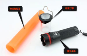 Rechargeable Traffic Baton Flashlight LED Torch pictures & photos