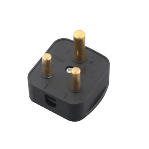 (100301) 16A 3 Pin South Africa Power Electrical Plug Top pictures & photos