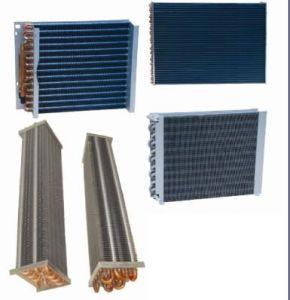 Blue Colour Finned Copper Evaporator pictures & photos