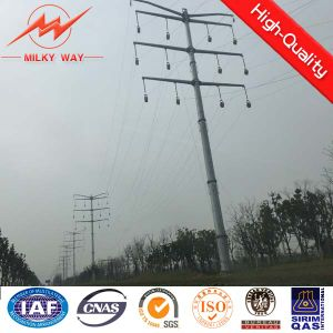 69kv 35FT HDG Octagonal Electric Power Pole pictures & photos