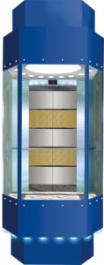 Machine Roomless Luxury Panoramic Elevator for Shopping Mall pictures & photos