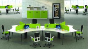 Model Style Premium Staff Partition Workstations Office Desk (PS-15-MF01-4) pictures & photos