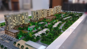 Architectural Model Maker of Residential Model (JW-382) pictures & photos