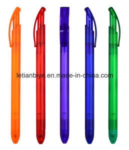 Slim Plastic Ball Pen for Company Advertising Gift (LT-C734) pictures & photos