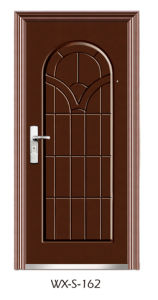 Economy Steel Door (WX-S-162) pictures & photos