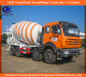 Heavy Duty Bei Ben 8X4 12cbm Concrete Mixer Truck pictures & photos