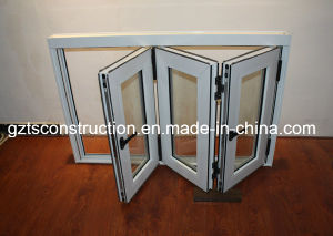 Aluminum Bifold Glass Windows pictures & photos