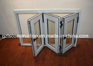 Aluminum Bifold Glass Windows pictures & photos