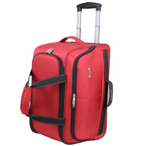 "Cities Carry on Wheeled Travel Trolley Bag 21"" & 18"" Lightweight Hand Luggage on Board Cabin Rolling Suitcase pictures & photos"