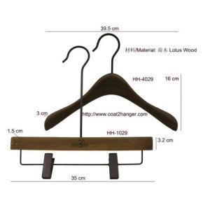 Female Wooden Suit Hanger pictures & photos