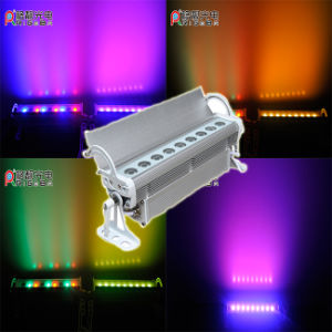 9LEDs*3W Waterproof RGB/Wihte/RGB 3in1 LED Wall Washer Light for Stage pictures & photos