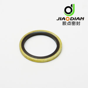 NBR FKM Rubber to Metal Dowty/Usit-Ring Bonded Seal/ Washer (O-RING-03) pictures & photos