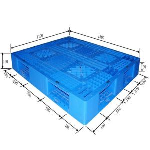Heavy Duty Large Stackable Plastic Pallet pictures & photos