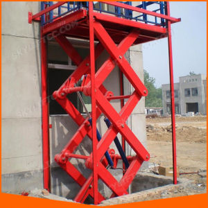 Ce Hydraulic Cargo Scissor Lift for Warehouse Lift Table pictures & photos