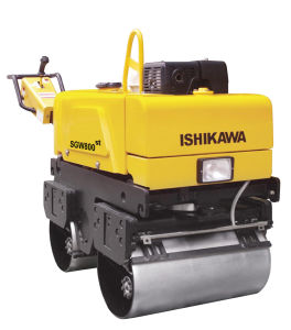 Honda Engine Double Drums Vibratory Road Roller pictures & photos