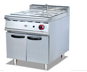 Gas Soup Pan with Cabinet (GH-984) pictures & photos