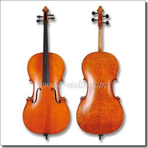 4/4, 3/4 High Grade Flamed Cello (CH400VA) pictures & photos