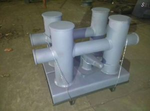 Double Bitts Mooring Casting Steel Marine Bollards pictures & photos