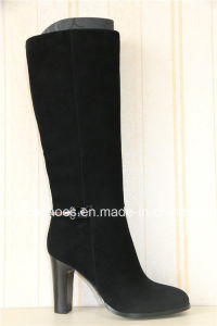 Sexy High Heels Leather Women Boots for Fashion Ladies pictures & photos