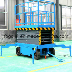Mobile Hydraulic Aerial Work Lift Construction Machinery Lifting Equipment pictures & photos