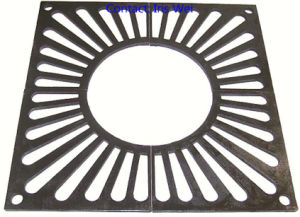 Cast Foundry Square Tree Grille 1200mm pictures & photos