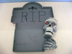 Halloween Party Toys Tableware Skull Plate
