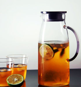 Big Capacity Glass Teapot Juice Jug Juice Kettle pictures & photos
