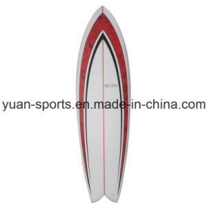 High Quality Australia Imported PU Blank Made Short Surfboard pictures & photos