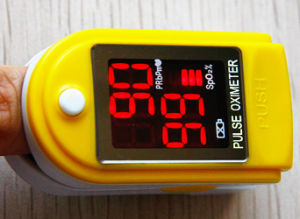 50dl Hot Selling CE & FDA Approved Finger Pulse Oximeter pictures & photos