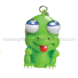 Promotional Rubber PVC Animal Eyes Pop out Keychain (eyt022) pictures & photos