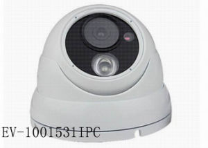 720p 3.6mm IP Security Cameras White Dome Surveillance Security for Outdoor Day Night pictures & photos