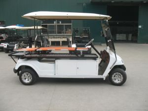 Electric Ambulance Golf Cart, with Stretcher, Eg2048tb1, CE Approved pictures & photos
